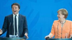 Merkel e Renzi e il silenzio della
