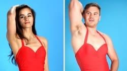 Voyez ce qui se passe quand des hommes essaient des maillots de bain de femmes