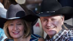 Federal Leaders Attend Stampede With Election In