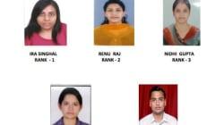 Women Take Top Four Ranks In Prestigious UPSC