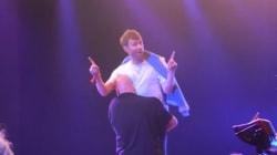 Le leader de Blur se fait virer de son propre concert par la