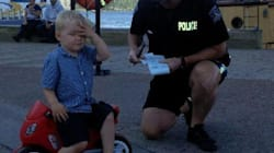 Halifax Kid Gets Parking Ticket For All The Right