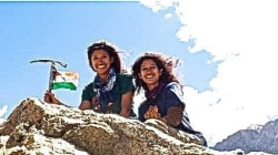 Haryana Twin Sisters Are The Youngest Indians To Scale The Highest Peaks In 7