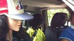 Un conducteur et ses 2 mannequins