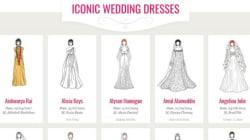 I 100 abiti da sposa più iconici di