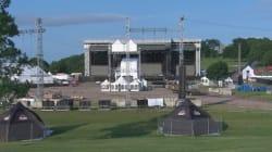 La logistique derrière le Festival d'été de