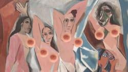 Le téton masculin, solution pour poster des nus de