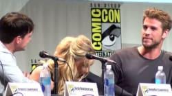 Jennifer Lawrence renifle ses doigts et se mouche avec la