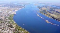 Le fleuve St-Laurent est