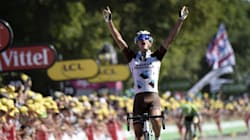Première victoire d'étape française sur le Tour de