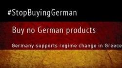 #BoycottGermany, l'hashtag che incoraggia il boicottaggio dei prodotti