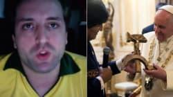 ASSISTA: Gregorio Duvivier encarna 'coxinha' e pede o 'impeachment do