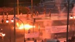 Molotov e lacrimogeni, scontri a Piazza Syntagma. Atene si