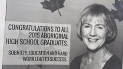 Un journal autochtone met une députée libérale dans
