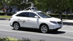 La voiture sans conducteur de Google a eu un accident