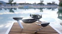 空を飛ぶだけではない 水空両用型ドローン「Hydrofoil」とは?