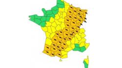 40 départements en vigilance orange