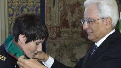 La Cristoforetti nominata Cavaliere: