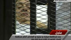 Egypt's Former President Makes A Dramatic Court