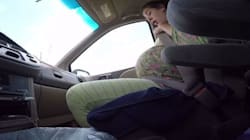 Dad Films Wife Giving Birth To 10-Pound Baby In The Car