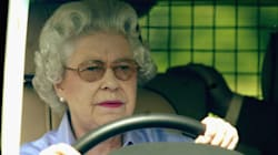 Queen Elizabeth Swerves Around A Family, Gives Them The Royal