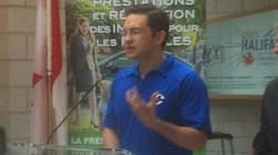 Poilievre Wears Conservative Party Shirt While On Government