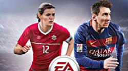 Sinclair aux côtés de Messi sur FIFA