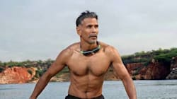PHOTOS: 50-Year-Old Milind Soman Completes The Tough 'Ironman Triathlon' Under 16