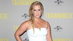 Amy Schumer Goes Angelic At 'Trainwreck' Sydney