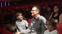 Gala hommage à François Pérusse: plus drôle qu'émotif