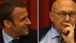Emmanuel Macron a fait un bide pour le retour de Michel Sapin et de son bras