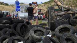 L'Espagne condamne l'agression de camionneurs pendant les actions d'éleveurs