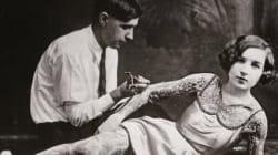 Ces clichés vintage montrent la beauté des femmes tatouées