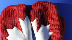 Why Sales Of Red Mittens Are Soaring In Canada In