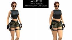 Les héroïnes de jeux vidéo imaginées avec le poids moyen des