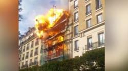 Les images impressionnantes de l'explosion d'un immeuble à