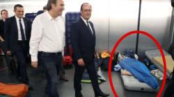 La visite (vraiment) surprise de Hollande à l'école 42 de