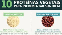 10 proteínas vegetais para incrementar sua dieta