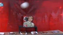 Alla festa M5S tiro a segno contro Merkel la