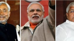 Modi Launches BJP's Election Campaign In Bihar With Brutal Attack On Nitish-Lalu