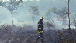 L'incendie en Gironde