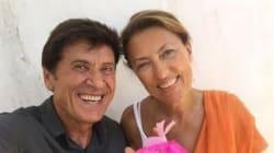Gianni Morandi fa gli auguri alla moglie e