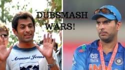 Dubsmash Wars: Yuvraj Singh Moonwalks All Over Shoaib Malik's