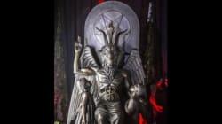 Satanic Temple Unveils One-Ton Goat-Headed Bronze