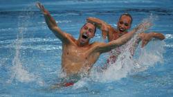 Voici le premier homme champion de natation