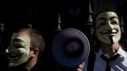 'Anonymous' Hack Into Law Enforcement Websites, Leak