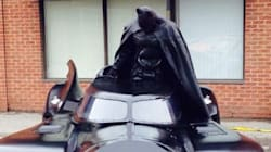 Broken Batmobile Introduces A Little Anarchy To Ontario