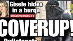 Le New York Post croit avoir vu Gisele Bündchen en burka à Paris (et fait sa Une