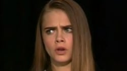 Cara Delevingne Had The Most Awkward Interview