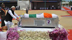 Former President APJ Abdul Kalam Laid To Rest In Rameswaram; Modi, Rahul Pay Last